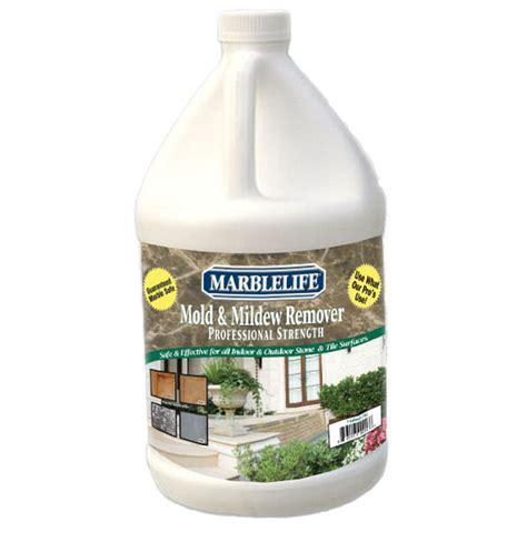 Mold & Mildew Stain Remover Gallon   Marblelife