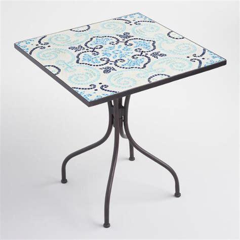 market table bistro reservations mosaic square cadiz bistro table world market