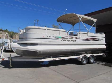 crestliner pontoon boat models crestliner 2485 boats for sale