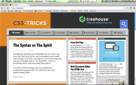 layout css tricks 19 best websites 2014 for learn web design and development