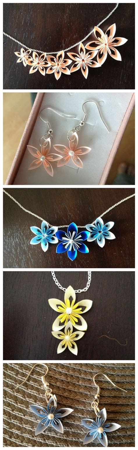 Origami Paper Quilling - 25 best ideas about origami jewelry on