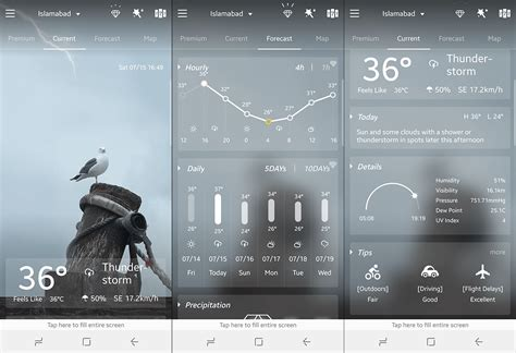 best weather forecast the 8 best weather app for android