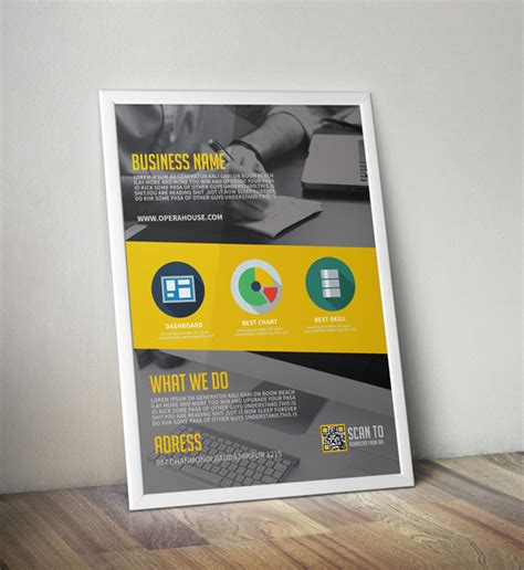 design mockup templates free download collection of 30 free flyer mockup designs