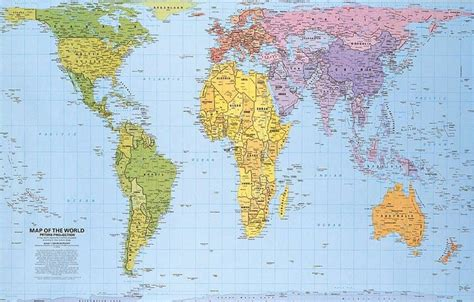 real world map real map of the world maps