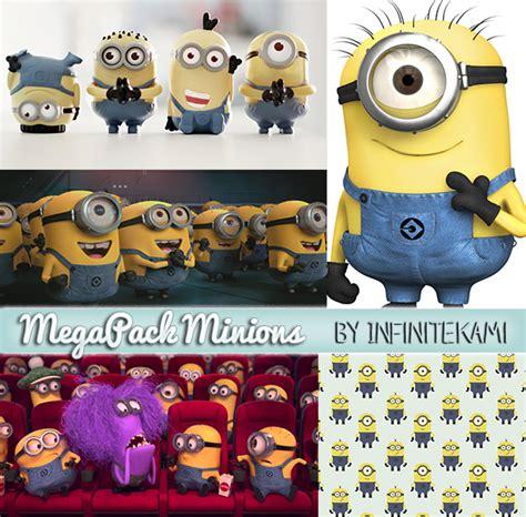 Imagenes De Minions Normales | megapack minions despicable me by infinitekami on deviantart