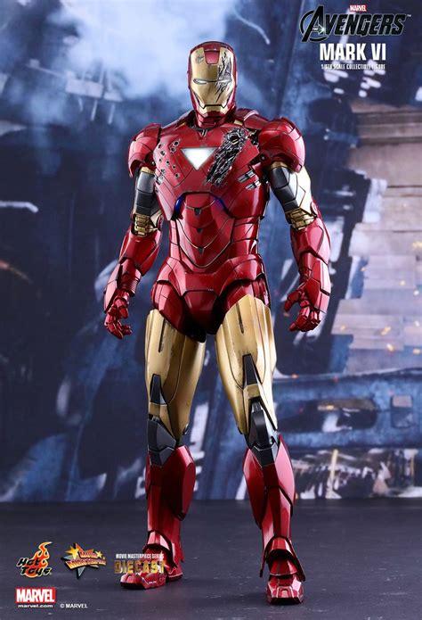 hot toys  avengers mark vi  scale diecast