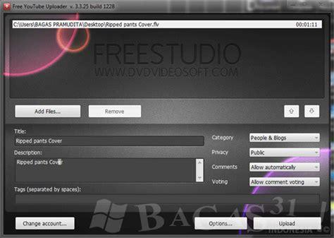 bagas31 youtube downloader free youtube uploader 3 3 25 bagas31 com