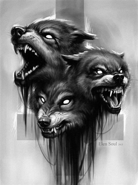 snarling wolf tattoo designs wolves design by elensoul tattoos