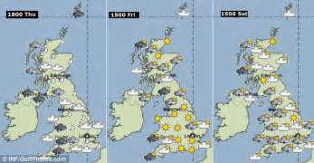weather map of us for tomorrow uk weather thunderstorms and gale winds set to batter britain bringing strong seas and