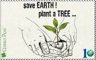 Save trees save earth save earth plant a tree