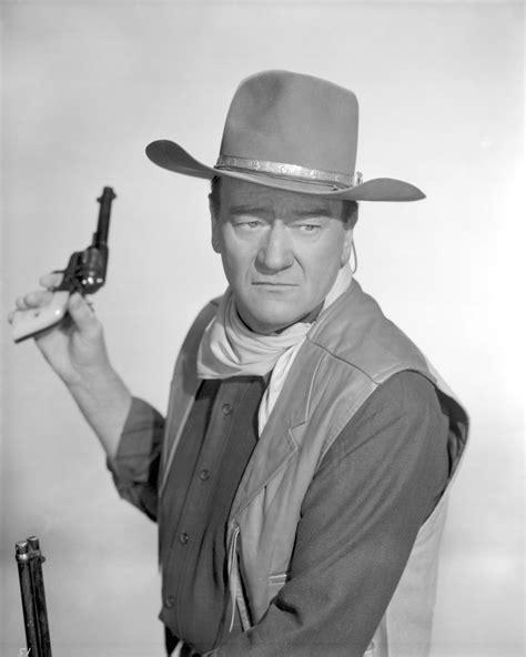 Pin Still Of Robert Mitchum, John Wayne, Charlene Holt And Arthur Hunnicutt In El Dorado (1966