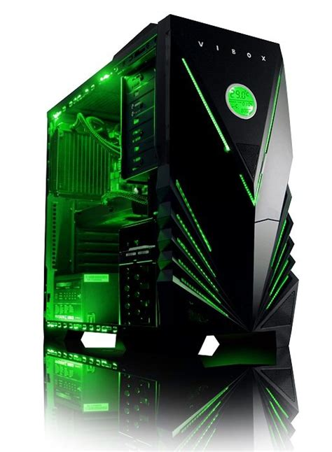 Awesome Computer Desk by Win A Vibox Element X Green Gaming Pc Worth 163 649 Eteknix