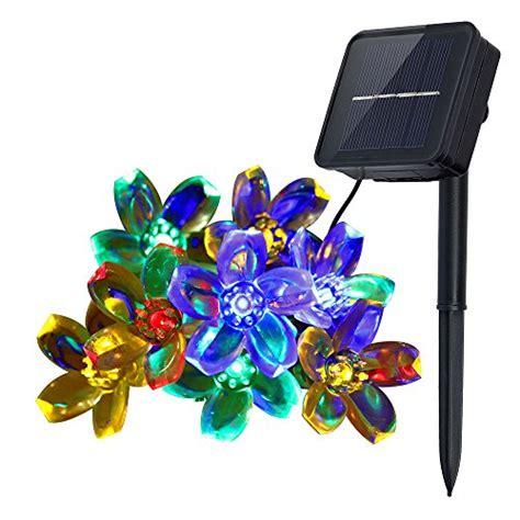 indoor string lights amazon innoo tech solar string lights outdoor flower garden light