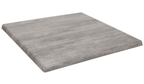 square table top square isotop table top in cement bar restaurant furniture tables chairs and bar stools