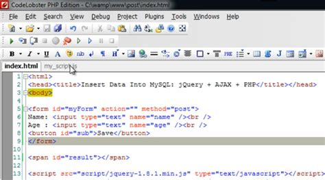 format date insert php how to insert data into mysql database using jquery ajax