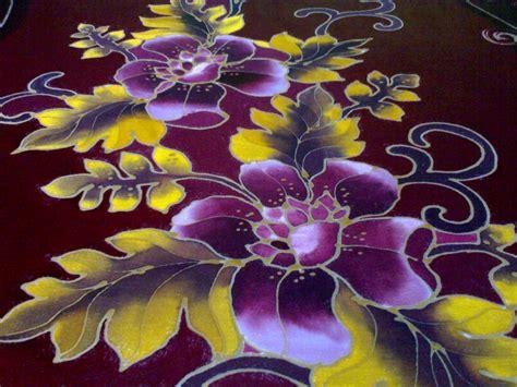 wallpaper batik bunga corak bunga wallpaper