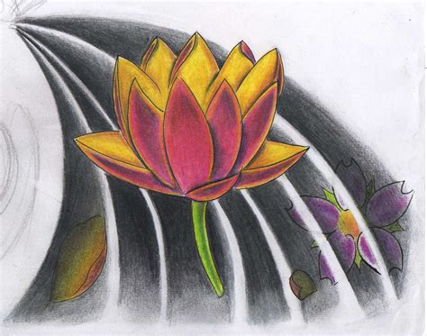 tattoo flash lotus tattoo flash lotus by willemxsm on deviantart