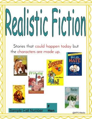 biography genre define realistic fiction genre for kps
