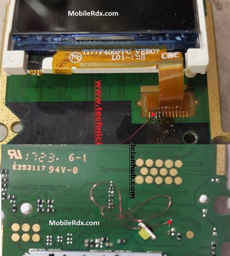light ta nokia 105 ta 1010 backlight ways display light jumper solution