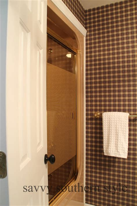 kilz bathroom paint savvy southern style how to paint over wallpaper