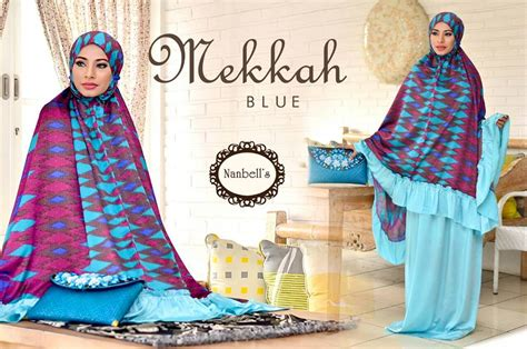 Mukena Bahan Dingin 100 nanbell s baju muslim modern