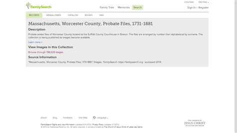 Worcester County Massachusetts Clerk Of Courts Records Genea Musings Worcester County Massachusetts Probate Files 1731 1881 Are On