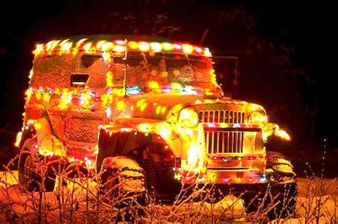 jeep christmas lights happy holidays and merry christmas from rugged ridge