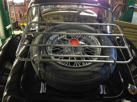 Tire Rack Australia by Tire Carrier Addition To Standard Luggage Rack