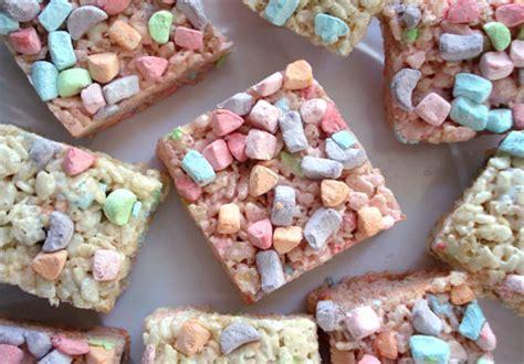 pretty  pastel rice krispie treats
