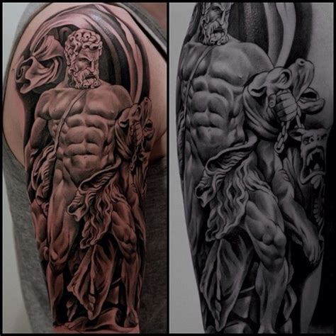 greek mythology sleeve tattoo designs 17 best images about holy tattoos on sleeve