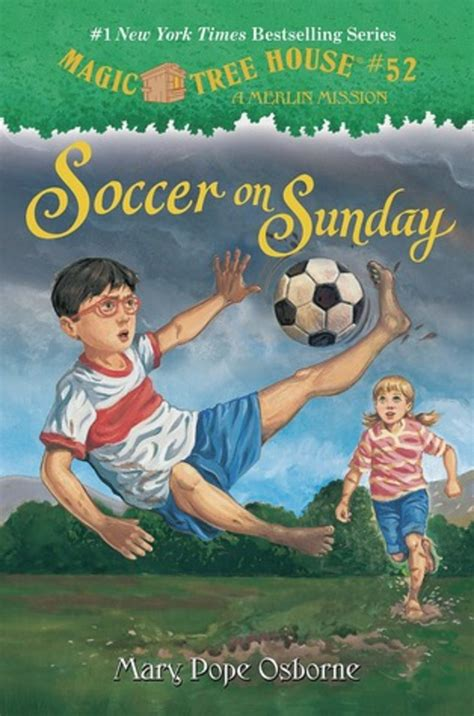 pictures of magic treehouse books soccer on sunday by pope osborne scholastic