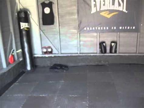 garage to mma transformation