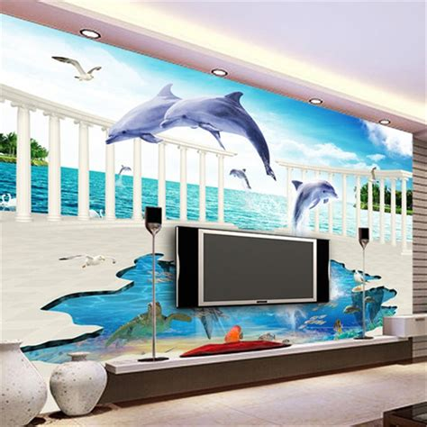 beibehang  stereoscopic underwater world childrens room