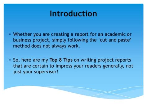 Report Writing Tips by The Best And Worst Topics For Tips For Writing An Introduction