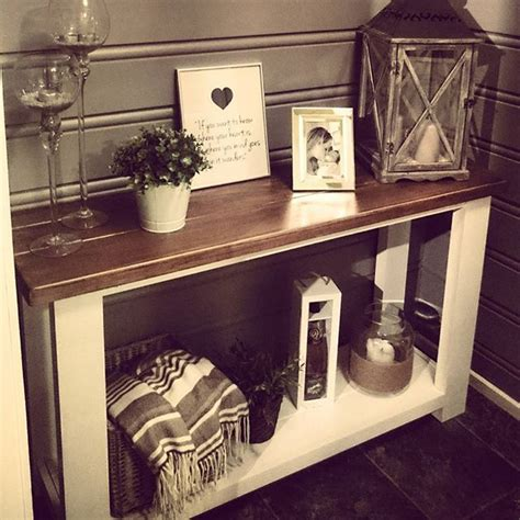 how to a sofa table 25 best ideas about sofa table redo on rustic