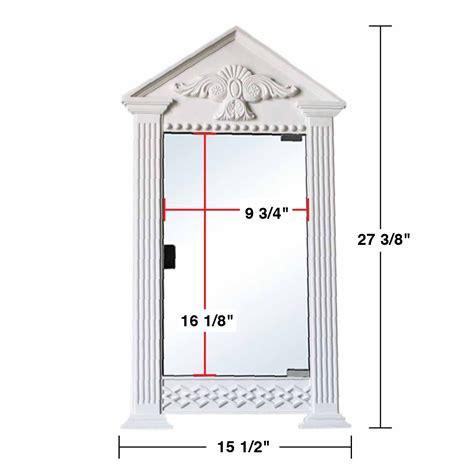 corner mount medicine cabinet white urethane corner medicine cabinet mirror wall mount