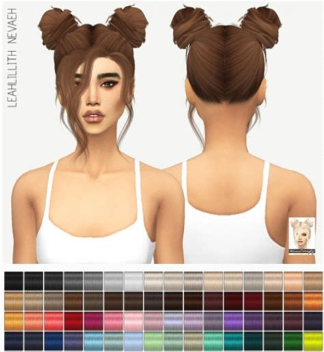 sims 4 hairstyles mods sims 4 hairs miss paraply leahllith s nevaeh hair