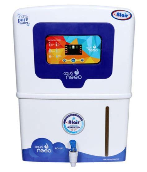 blair aqua neeo rouvuf water purifier price in india buy blair aqua neeo rouvuf water purifier