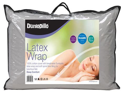 Dunlopillo Pillow Stockists by Dunlopillo Wrap Pillow Crendon Beds