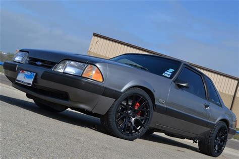 94 Mustang Auto To Manual Conversion by Fox Mustang Disc Brake Conversion Installation Sve 5