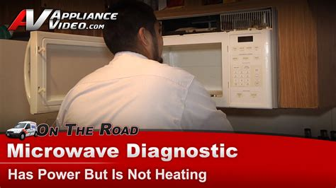 microwave not heating diode microwave diagnostic has power not heating ge general electric hotpoint rca