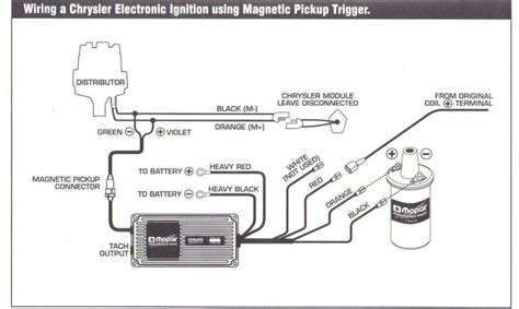 proform distributor wiring diagram