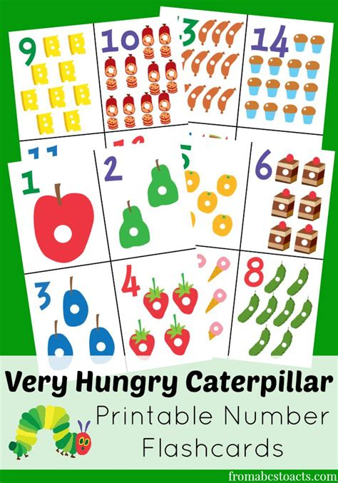 printable version of the very hungry caterpillar 25 best ideas about free printable numbers on pinterest