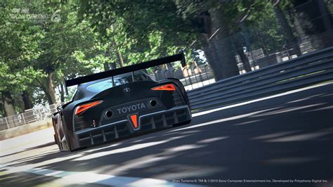 toyota vision toyota launches ft 1 vision gran turismo for playstation