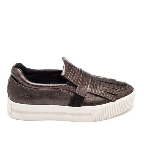 ash shoes ash king sneaker army bronze leather 360301 ash sneakers