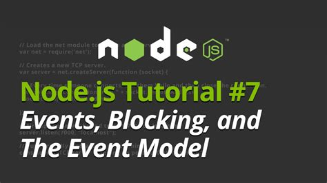 node js video tutorial youtube node js tutorial 7 understanding events blocking