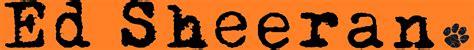 ed sheeran logo edward christopher sheeran