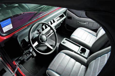 jeep islander interior jeep wrangler yj islander la primera serie especial