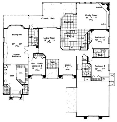 23 pictures dream home source house plans 79678 mediterranean style house plan 4 beds 3 baths 2660 sq ft