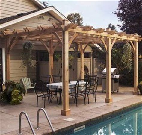 covered pergolas made of pure redwood outdoor ideas 23 best images about patio covers on pinterest